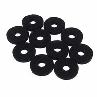 Colour Your Drum : Cymbal Felts Black