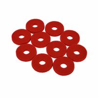 Colour Your Drum : Cymbal Felts Red