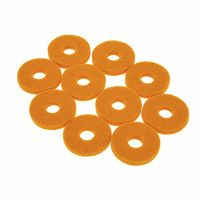 Colour Your Drum : Cymbal Felts Yellow