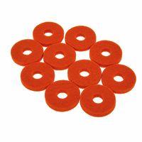 Colour Your Drum : Cymbal Felts Orange