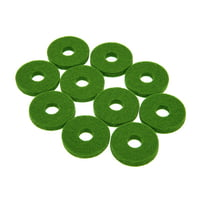 Colour Your Drum : Cymbal Felts Green