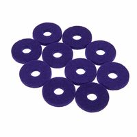Colour Your Drum : Cymbal Felts Purple