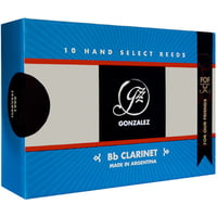 Gonzalez : Bb Clarinet Reed FOF Cut 2,5