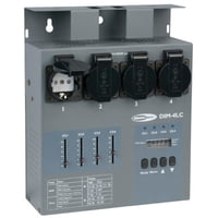 Showtec : DIM-4LC 4-Ch. Dimmer/Switch