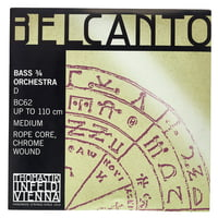 Thomastik : Belcanto D Double Bass 3/4