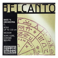 Thomastik : Belcanto E Double Bass 3/4