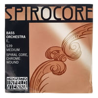 Thomastik : Spirocore E Bass 4/4 medium
