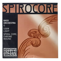 Thomastik : Spirocore G Bass 4/4 light