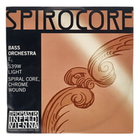 Thomastik : Spirocore E Bass 4/4 light