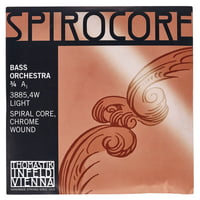 Thomastik : Spirocore A Bass 3/4 light
