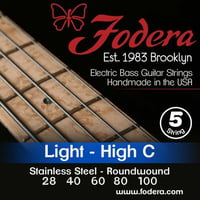 Fodera : 5-String High C Set Light SS