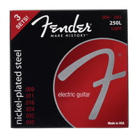 Fender : 250L-3-packs Guitar Strings