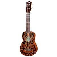 Luna Guitars : Uke Tribal Soprano