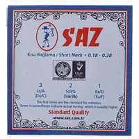 Saz : 651A Short Neck Saz Strings