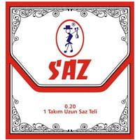 Saz : 651B Long Neck Saz Strings