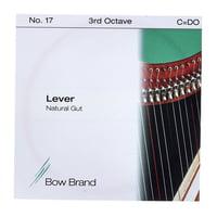 Bow Brand : NG 3rd C Gut Harp String No.17