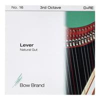 Bow Brand : NG 3rd D Gut Harp String No.16