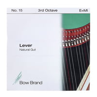 Bow Brand : NG 3rd E Gut Harp String No.15