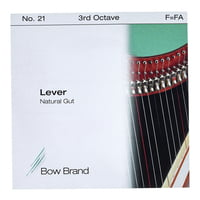 Bow Brand : NG 3rd F Gut Harp String No.21
