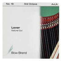 Bow Brand : NG 3rd A Gut Harp String No.19