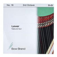 Bow Brand : NG 3rd B Gut Harp String No.18