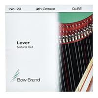 Bow Brand : NG 4th D Gut Harp String No.23