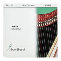 Bow Brand : NG 4th E Gut Harp String No.22