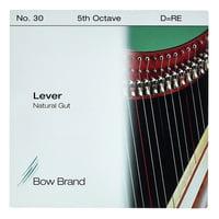 Bow Brand : NG 5th D Gut Harp String No.30
