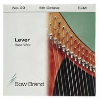 Bow Brand : BW 5th E Harp Bass Wire No.29