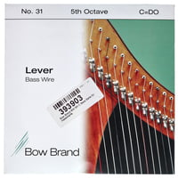 Bow Brand : BW 5th C Harp Bass Wire No.31