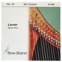 Bow Brand : BW 6th D Harp Bass Wire No.37