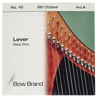 Bow Brand : BW 6th A Harp Bass Wire No.40