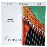 Bow Brand : BW 6th B Harp Bass Wire No.39