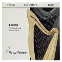 Bow Brand : BWP 5th D Harp Bass Wire No.30