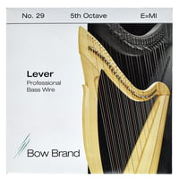Bow Brand : BWP 5th E Harp Bass Wire No.29