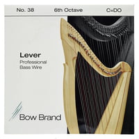 Bow Brand : BWP 6th C Harp Bass Wire No.38