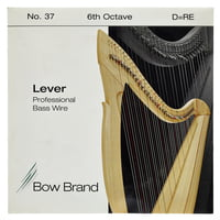 Bow Brand : BWP 6th D Harp Bass Wire No.37