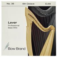 Bow Brand : BWP 6th E Harp Bass Wire No.36