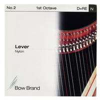 Bow Brand : Lever 1st D Nylon String No.2