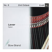 Bow Brand : Lever 2nd E Nylon String No.8