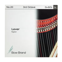 Bow Brand : Lever 3rd G Nylon String No.20