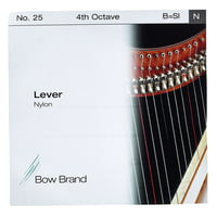 Bow Brand : Lever 4th B Nylon String No.25
