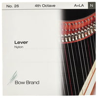 Bow Brand : Lever 4th A Nylon String No.26