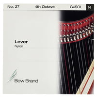 Bow Brand : Lever 4th G Nylon String No.27