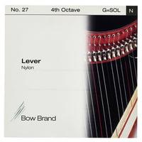 Bow Brand : Lever 4th G Nylon String No.27