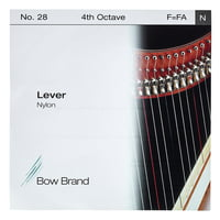 Bow Brand : Lever 4th F Nylon String No.28