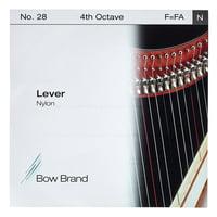 Bow Brand : Lever 4th F Nylon String No.28