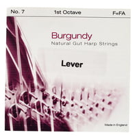 Bow Brand : Burgundy 1st F Gut String No.7