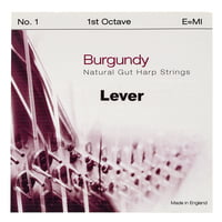 Bow Brand : Burgundy 1st E Gut String No.1