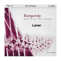 Bow Brand : Burgundy 1st C Gut String No.3